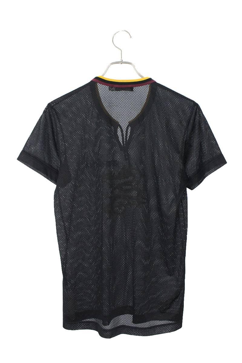ドラゴン刺繍メッシュTシャツ