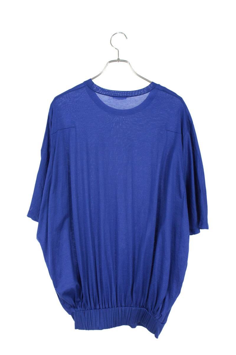 オーバーサイズショートリブTシャツ