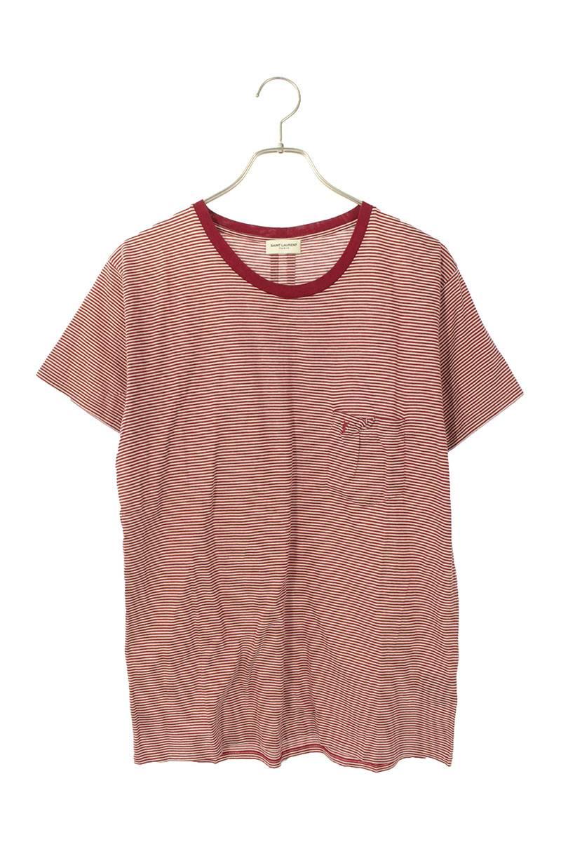 カサンドラ刺繍ボーダーTシャツ