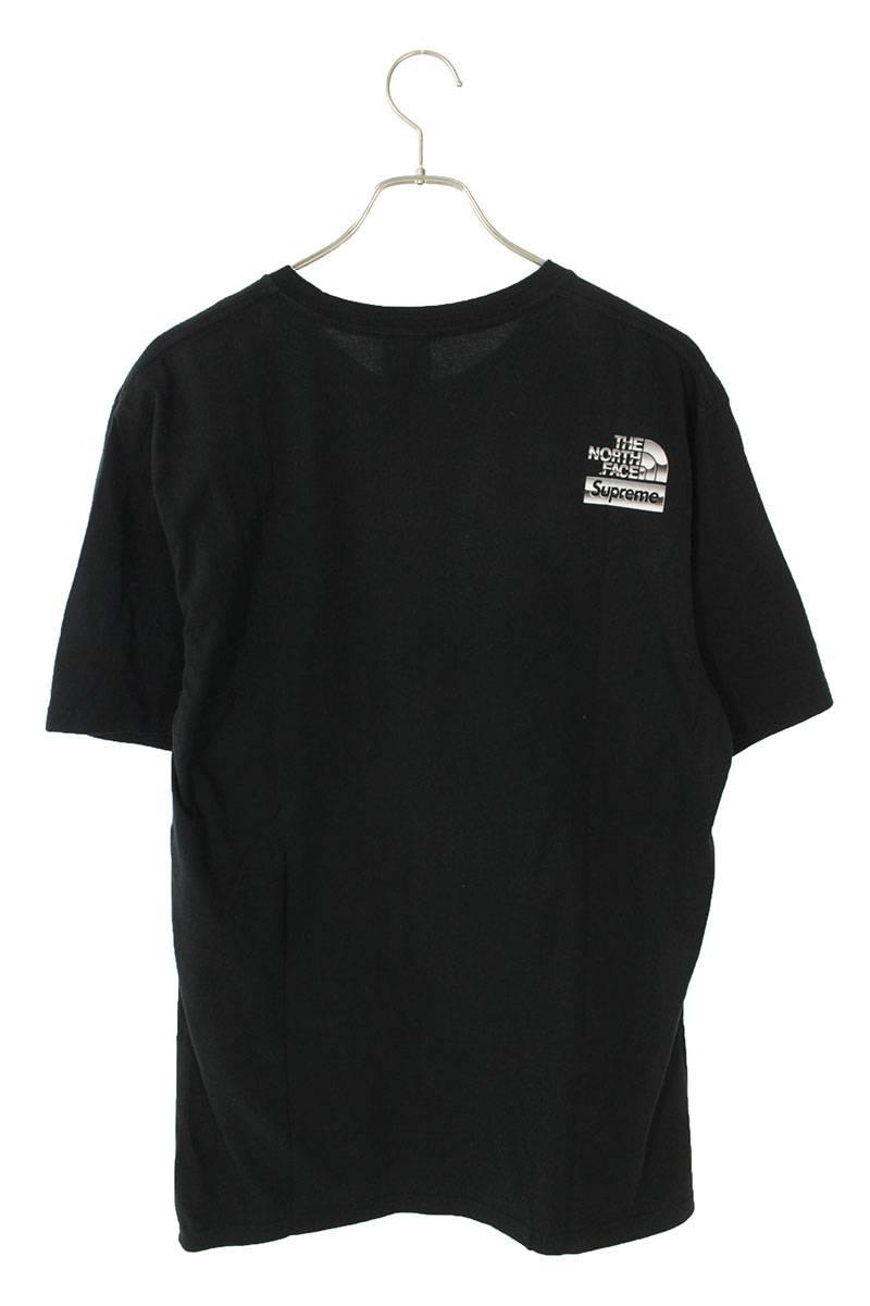 フロントメタルロゴプリントTシャツ