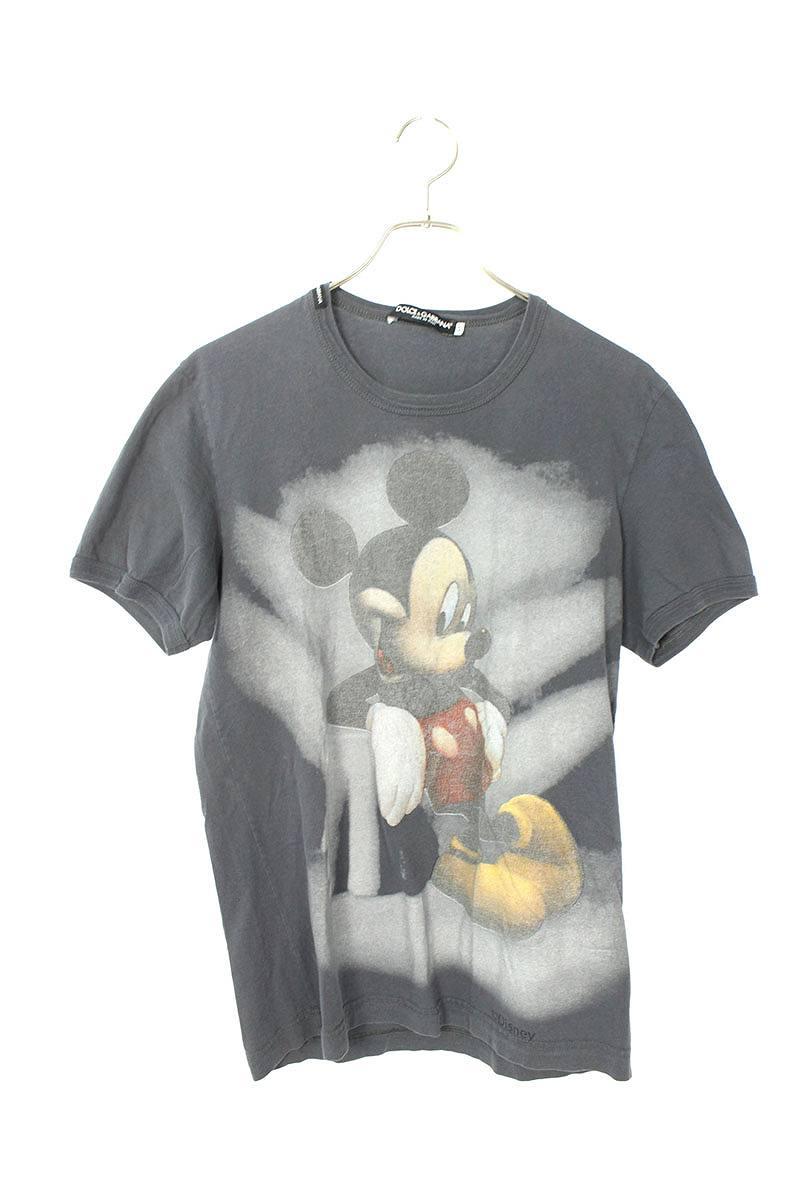 ミッキープリントTシャツ