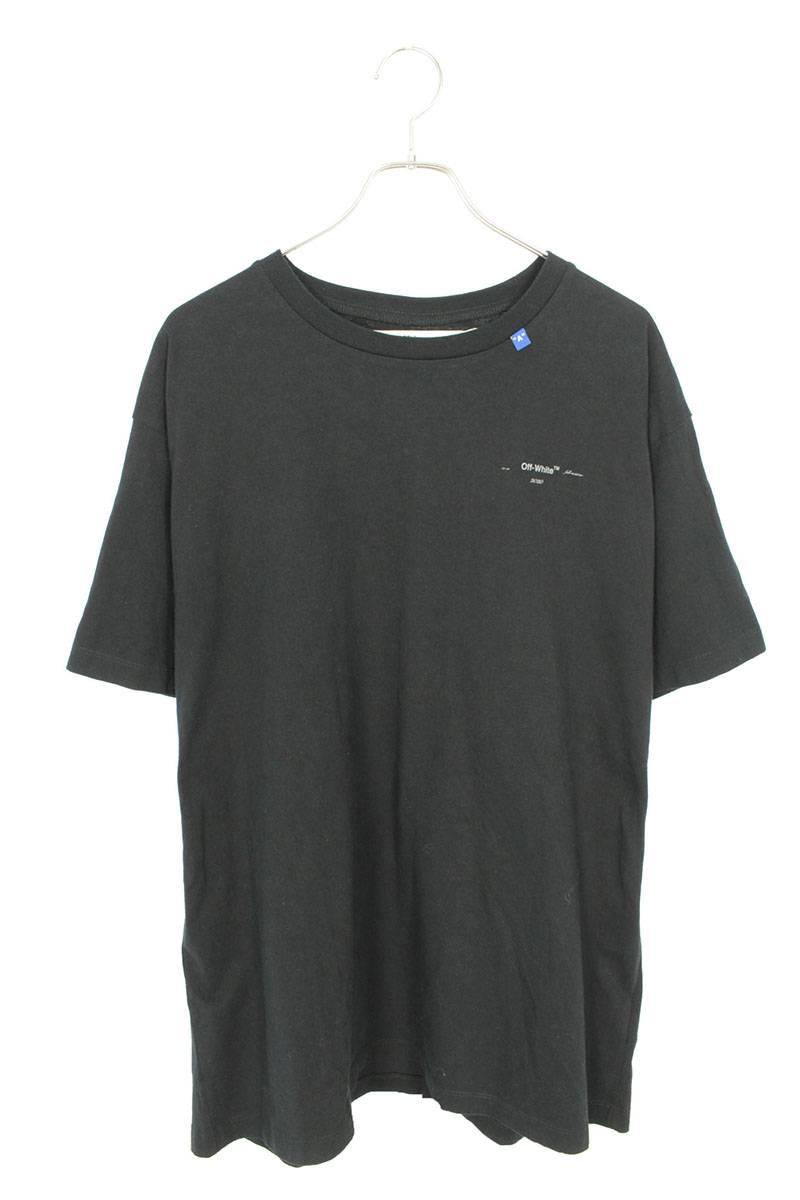 バック3DアロープリントオーバーサイズTシャツ