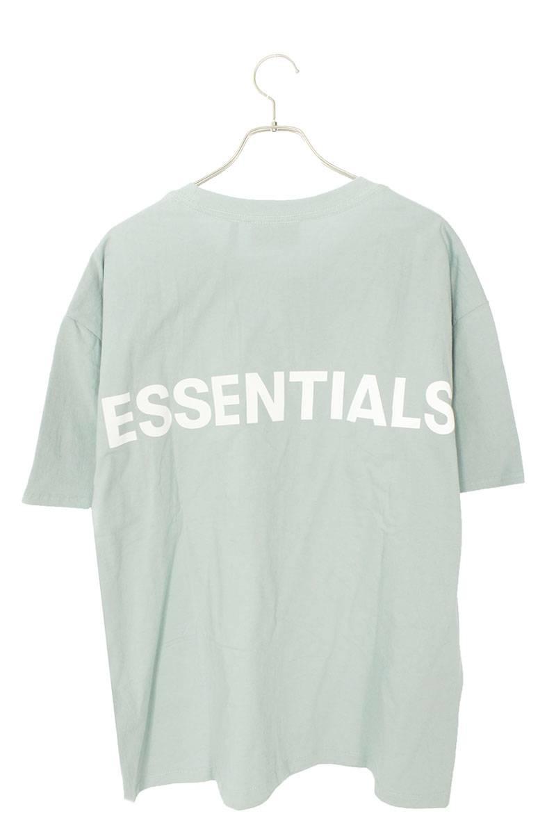 バックロゴTシャツ
