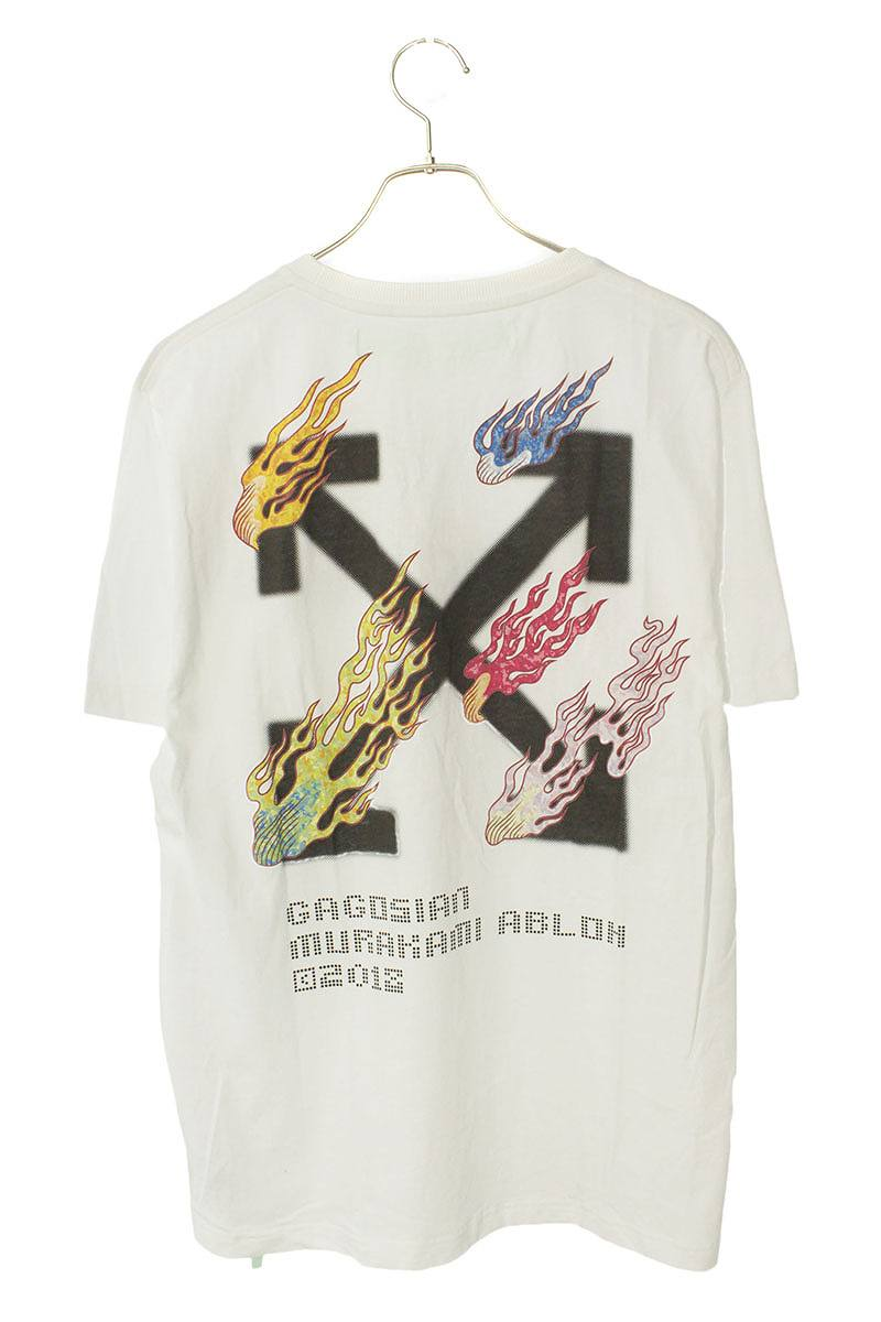 ×村上隆 バックプリントTシャツ