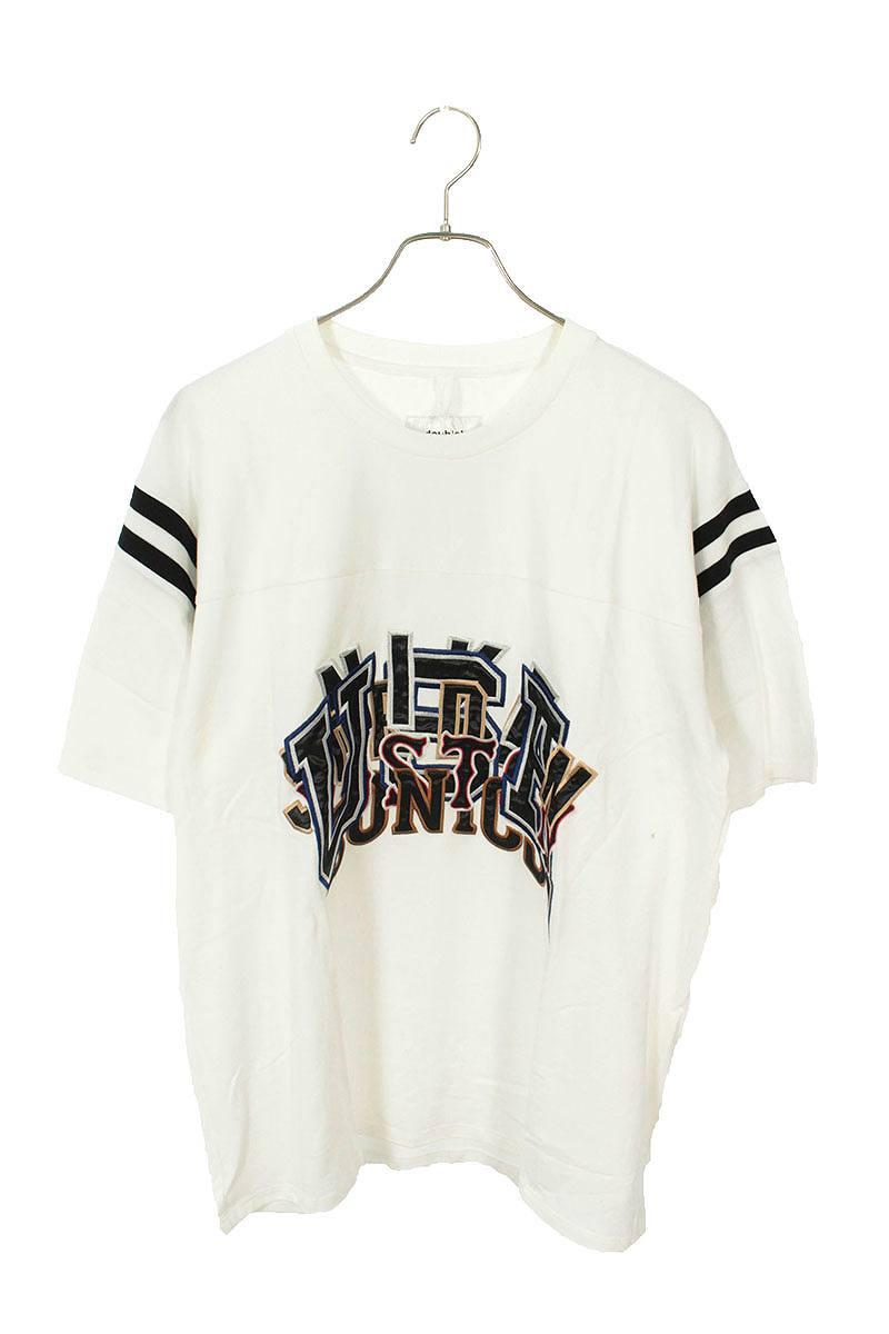 カオス刺繍アップリケTシャツ