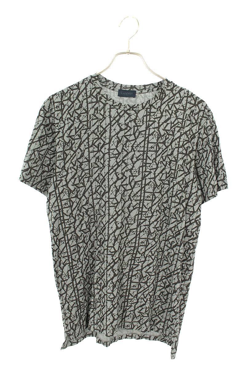 英字総柄Tシャツ