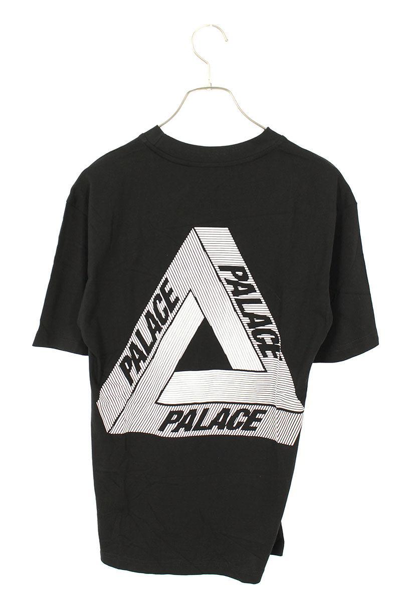 バックトライアングルロゴTシャツ