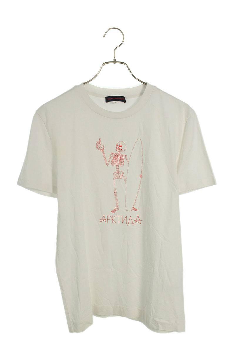 スカルプリントTシャツ