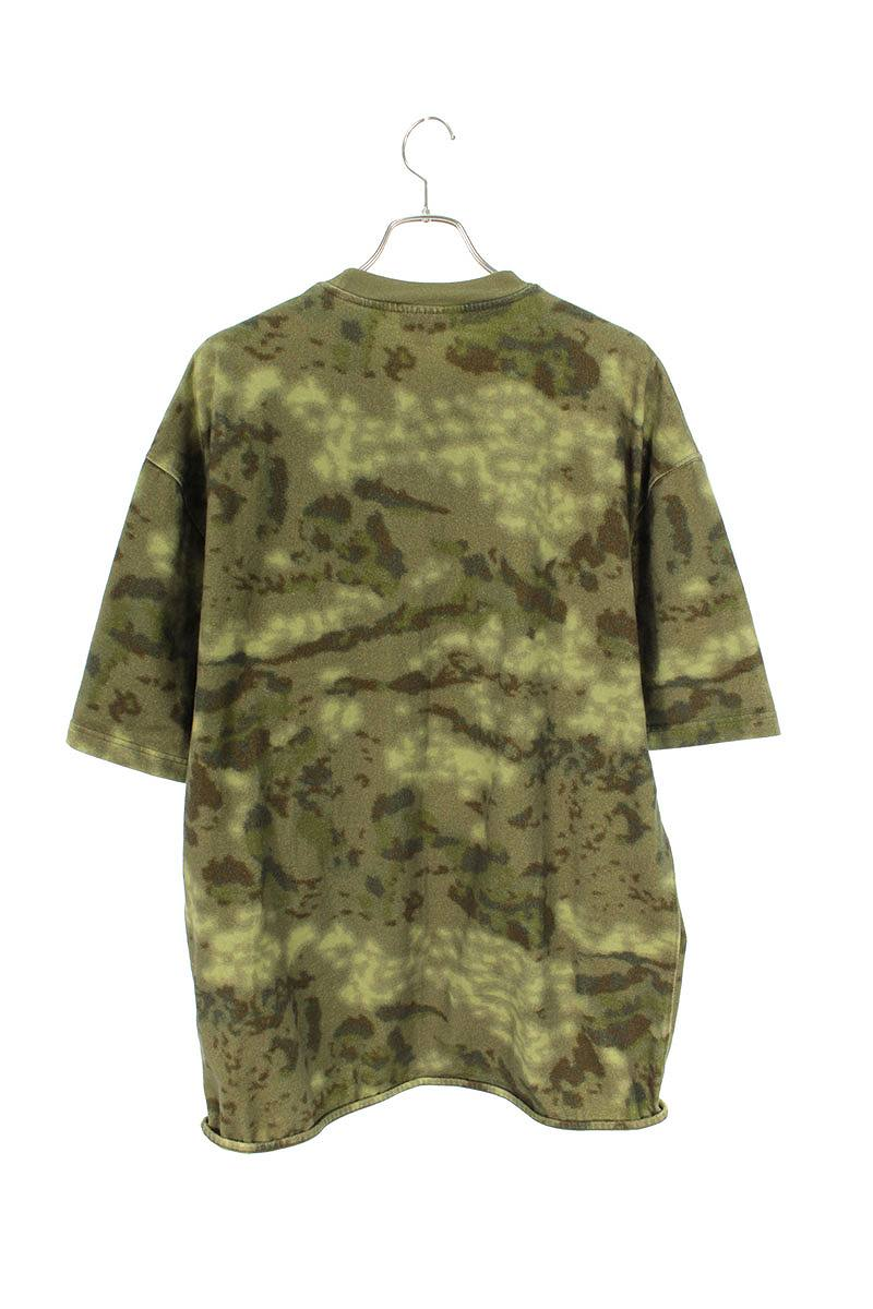 カモ柄オーバーサイズTシャツ