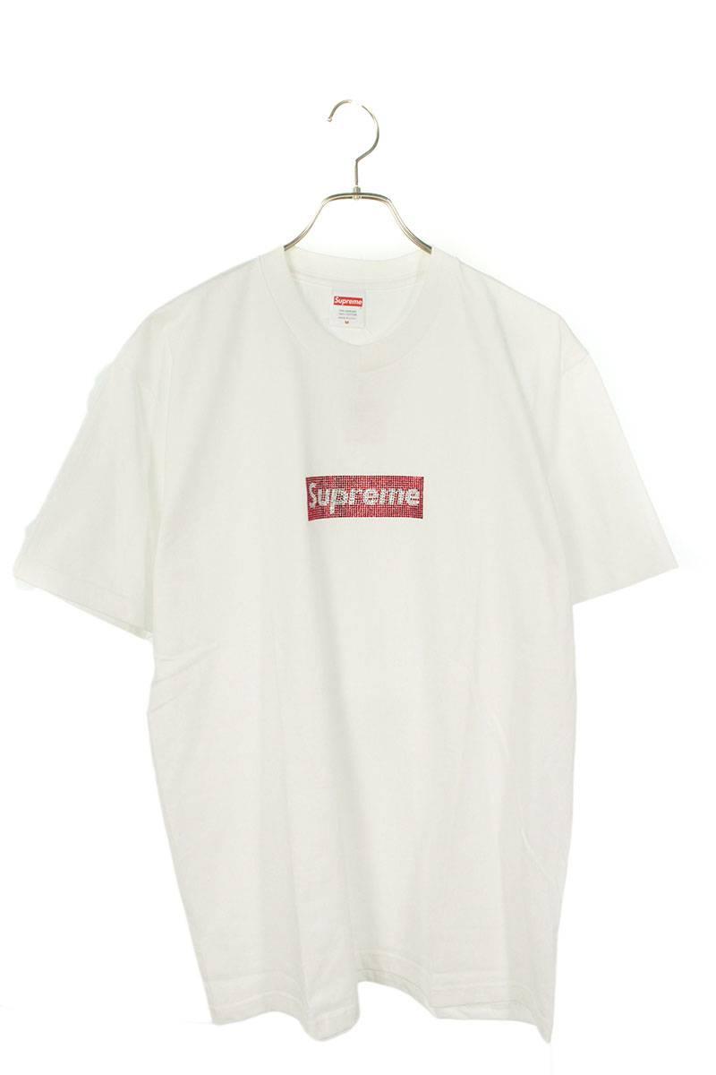 スワロフスキーボックスロゴTシャツ