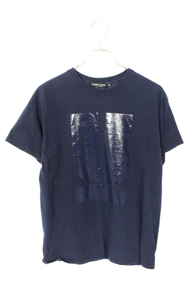 UロゴプリントTシャツ