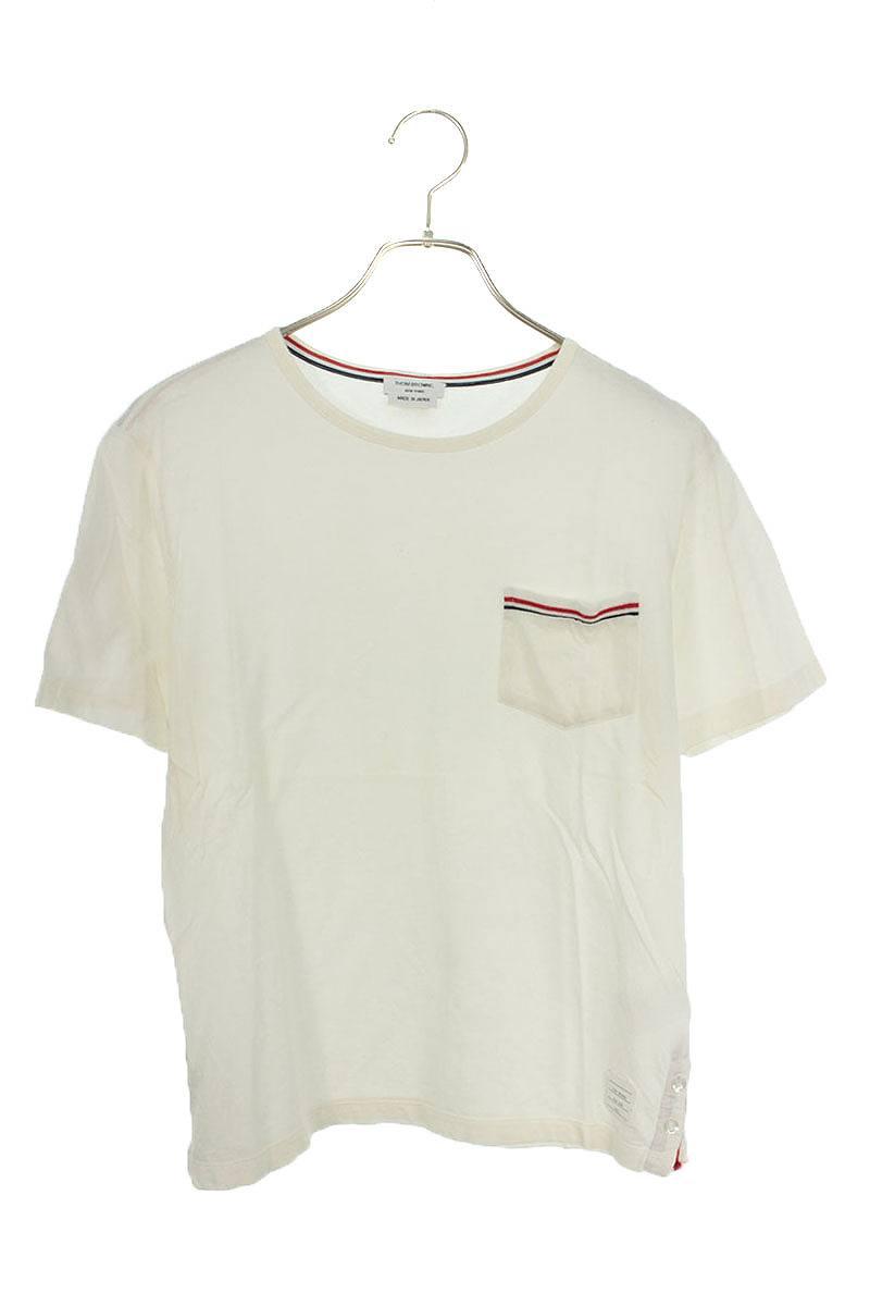 トリコロールテーピングTシャツ