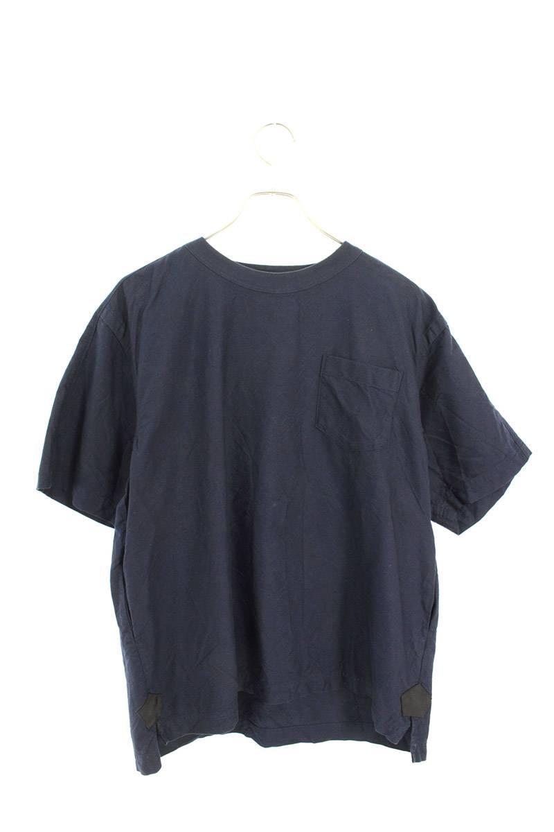 ショルダージップポケットTシャツ