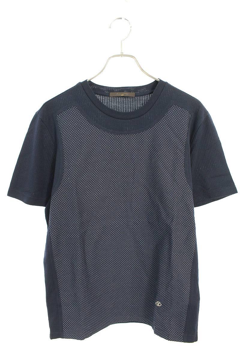 ドット刺繍Tシャツ