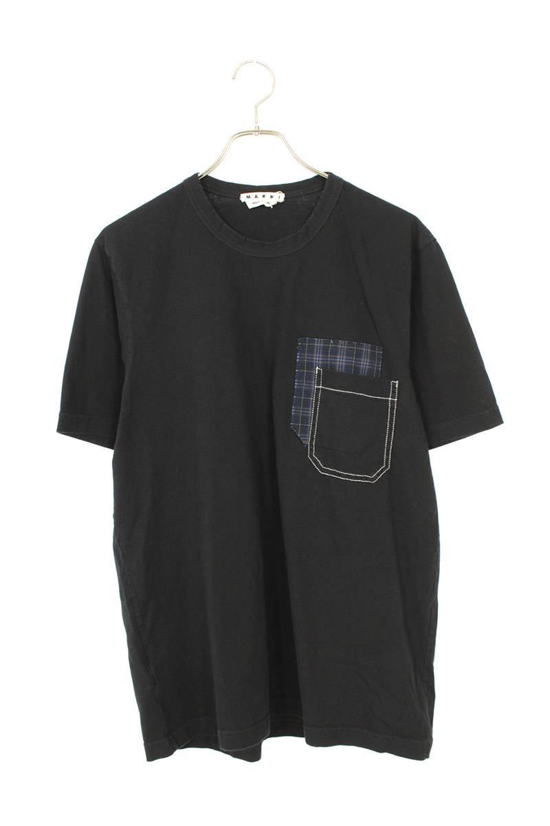 ポケットレイヤードデザインTシャツ