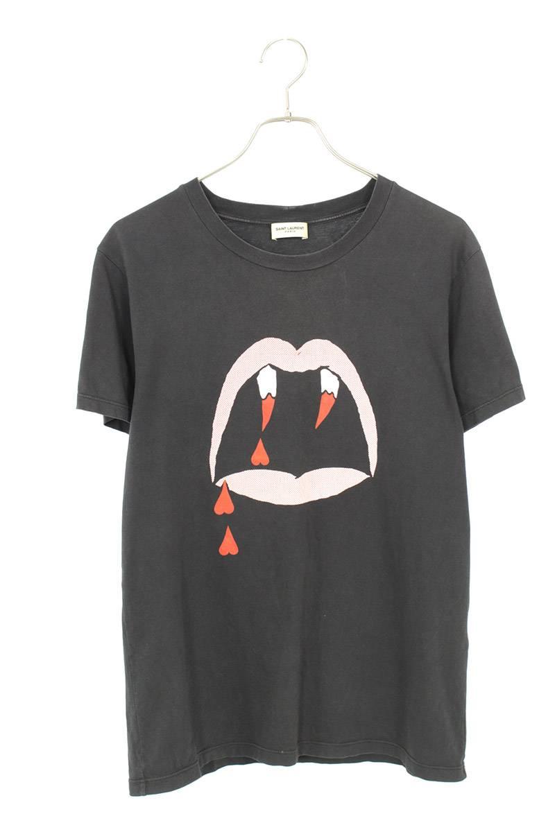 ヴァンパイアプリントTシャツ