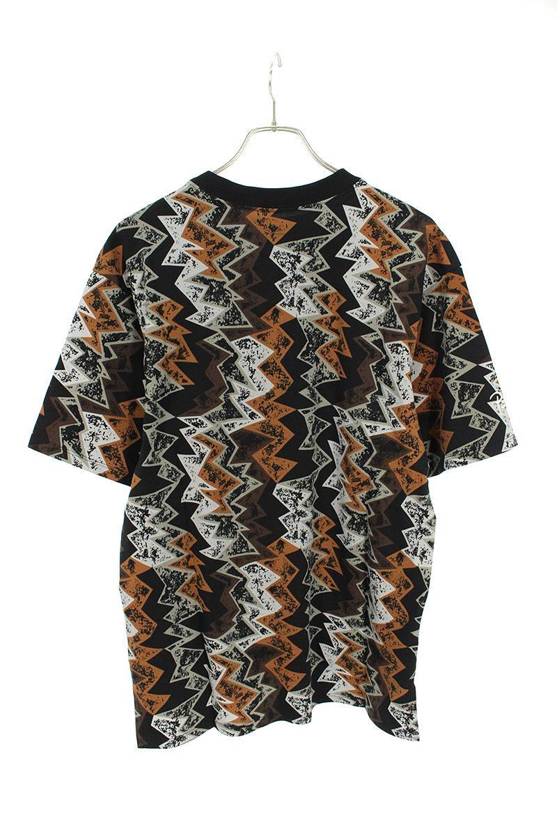 総柄ジャンプマン刺繍Tシャツ
