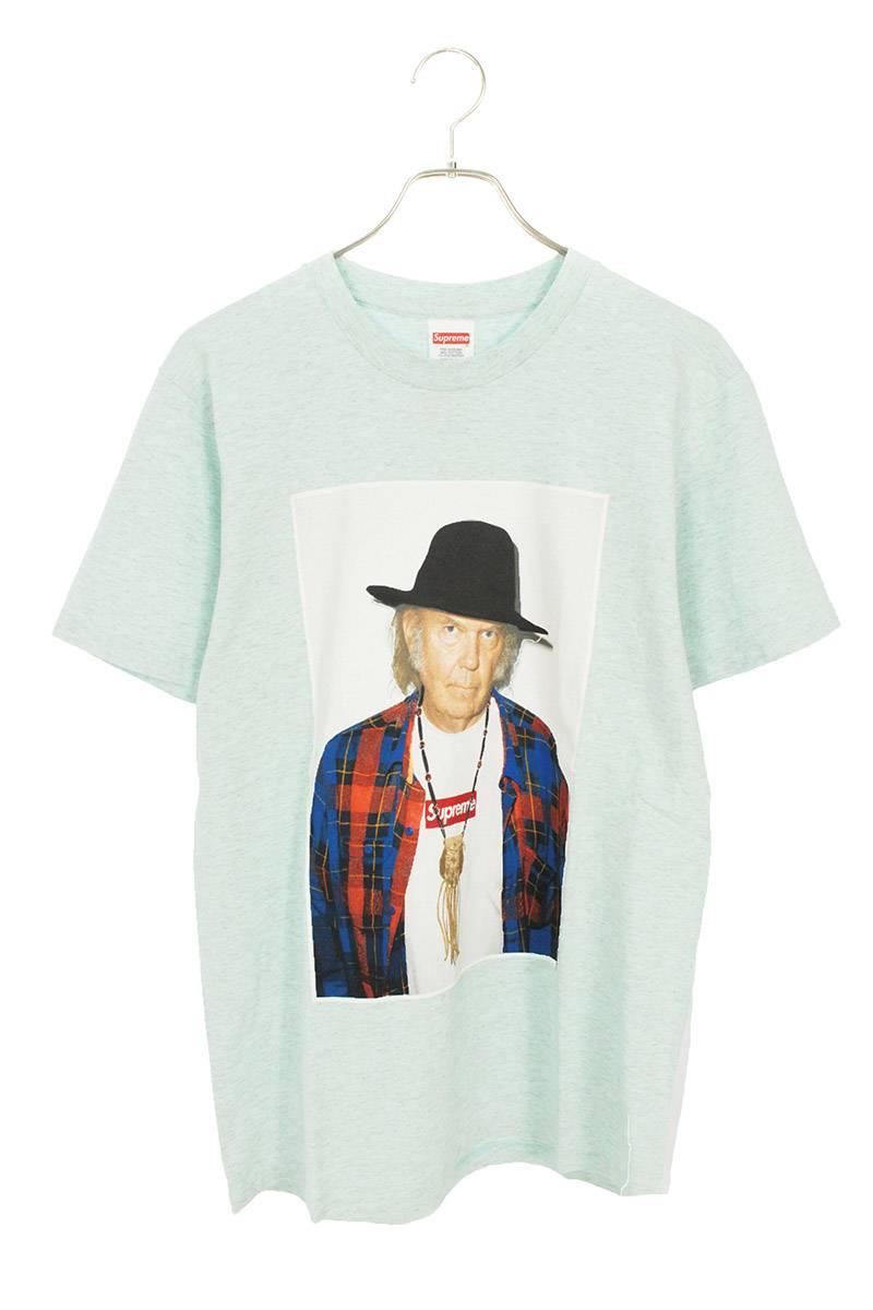 ニールヤングフォトプリントTシャツ
