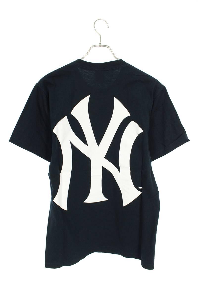 ニューヨークヤンキースボックスロゴTシャツ