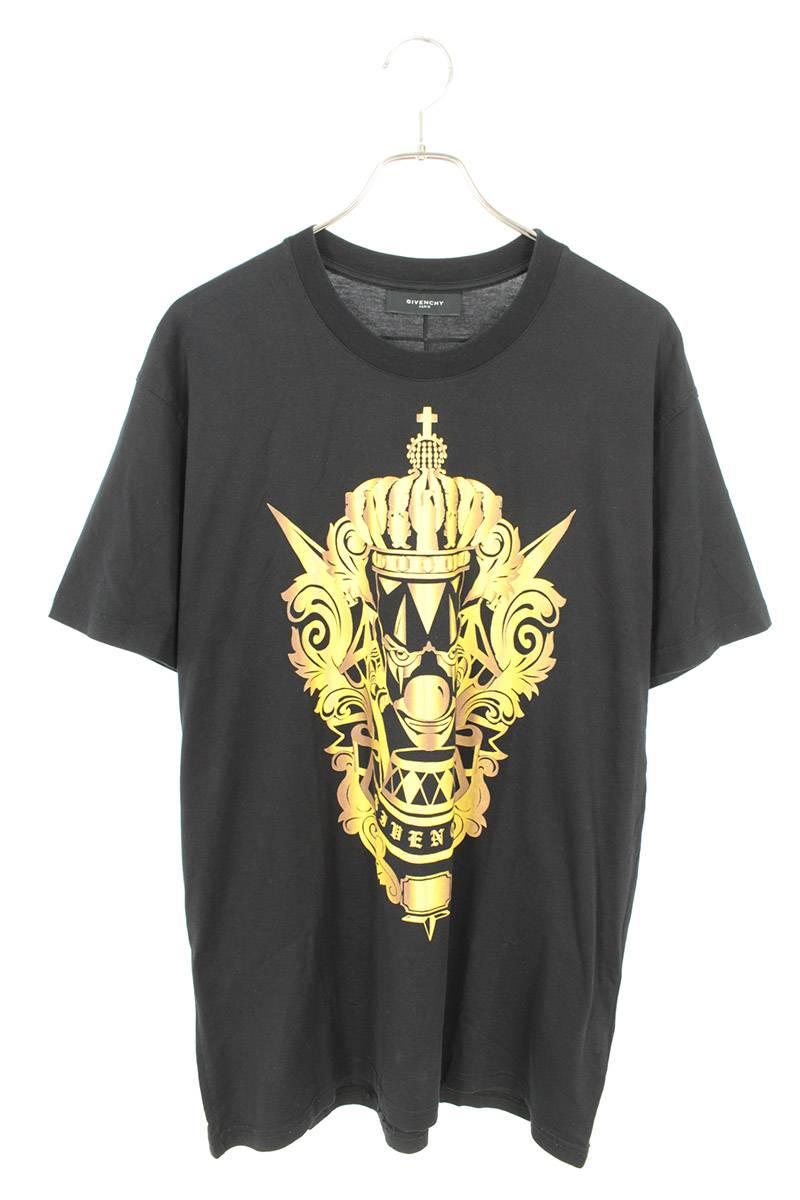 ピエロプリントオーバーサイズTシャツ