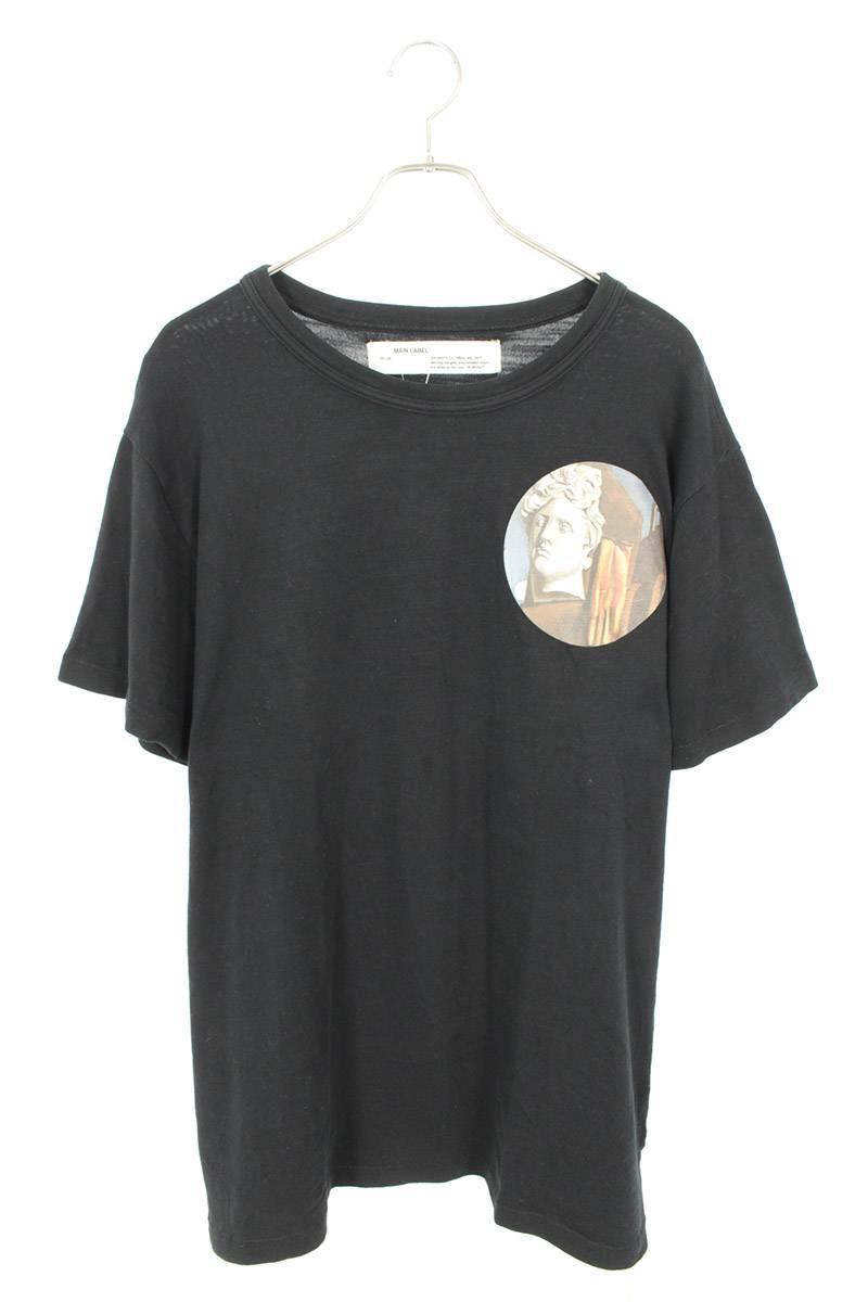 グラフィックサークルプリントTシャツ