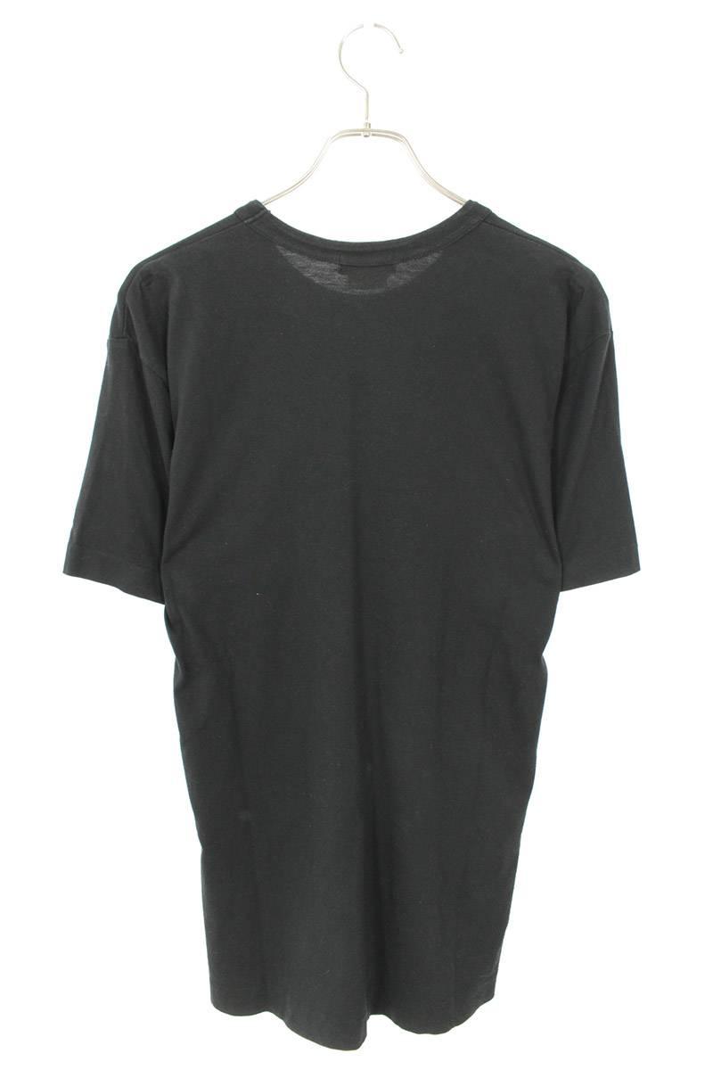 AD2009ボーダーポケットパッチワークTシャツ