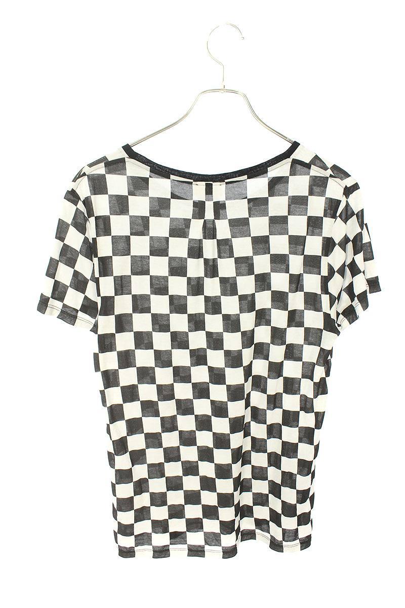 チェッカープリントTシャツ