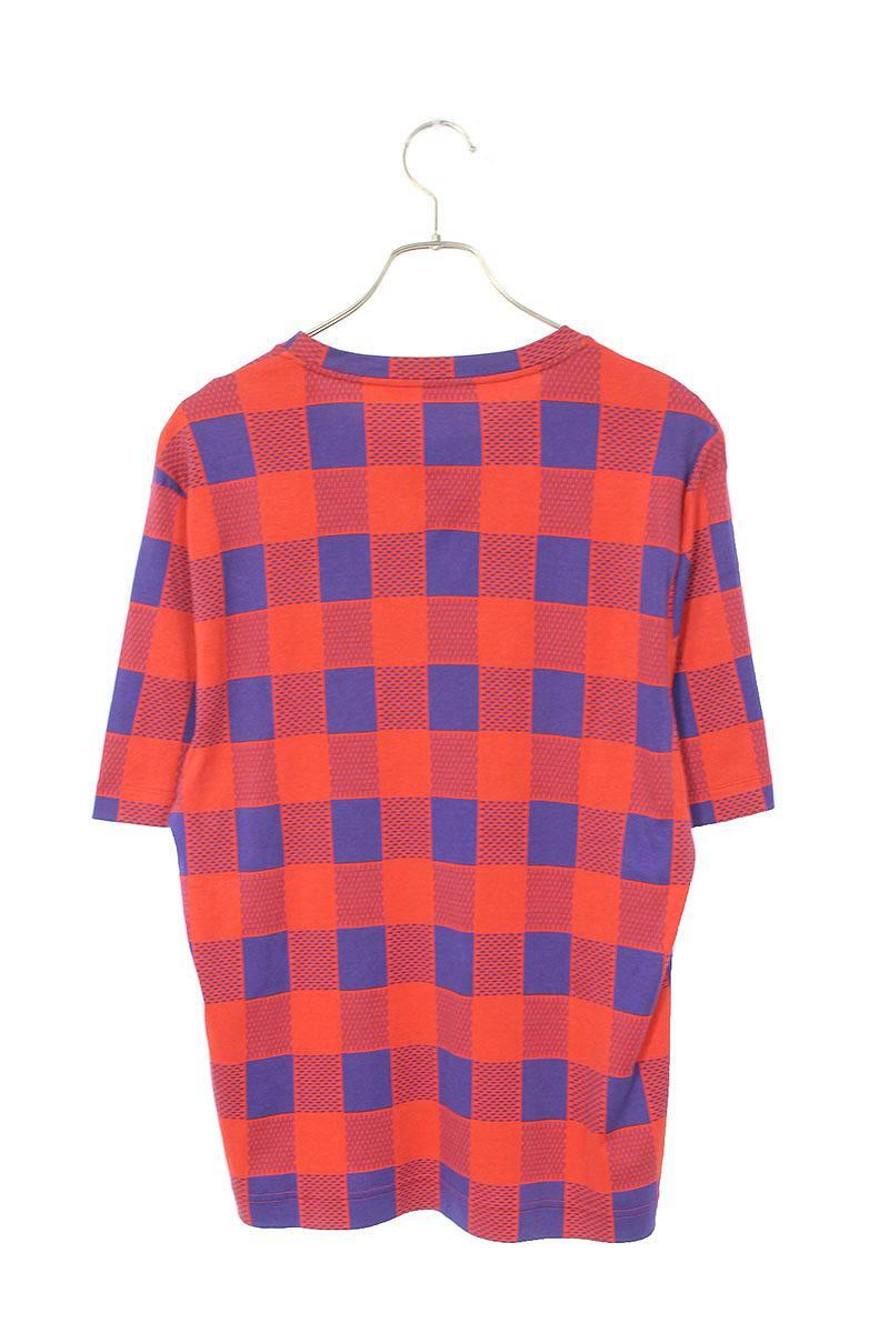 ダミエマサイチェックTシャツ