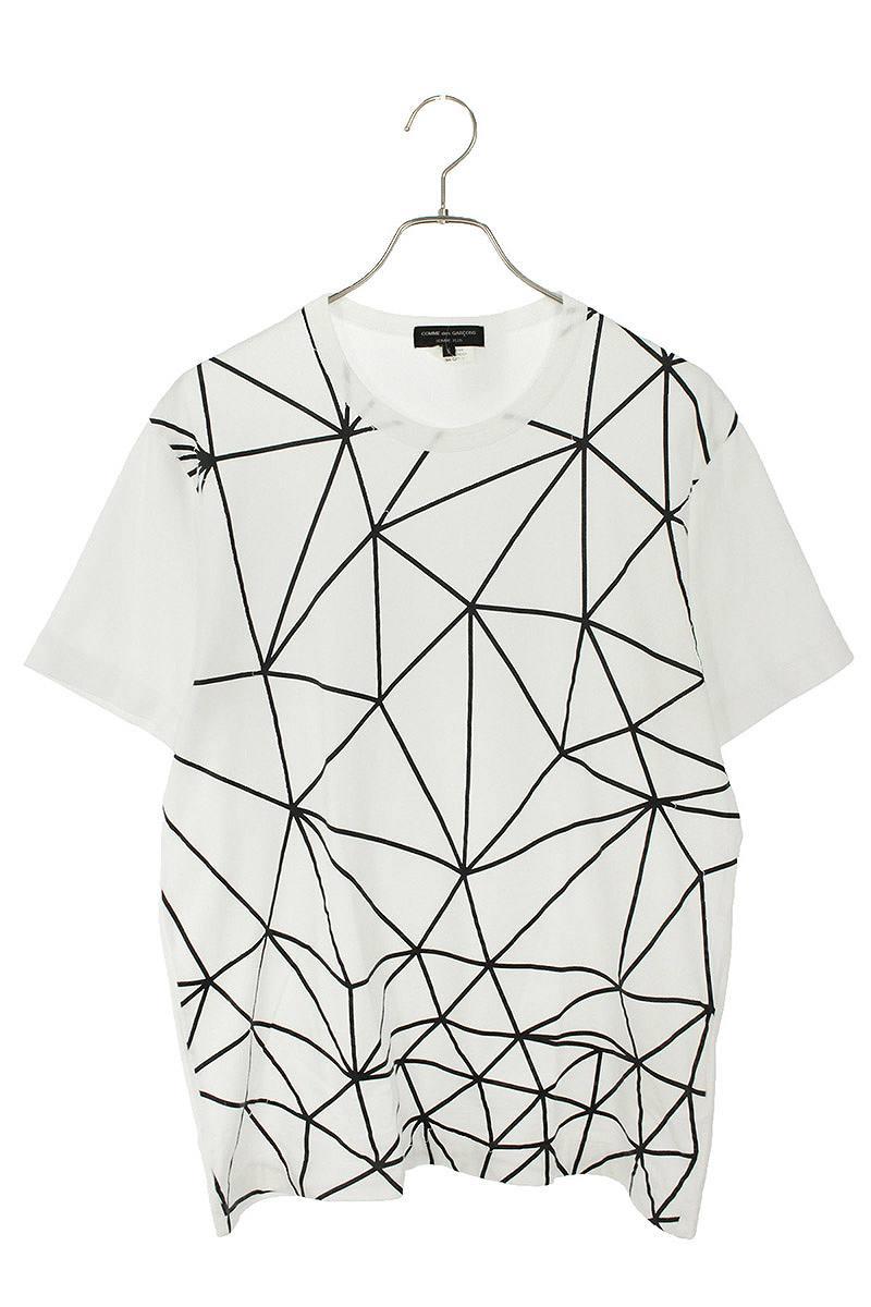 AD2018 総柄プリントTシャツ