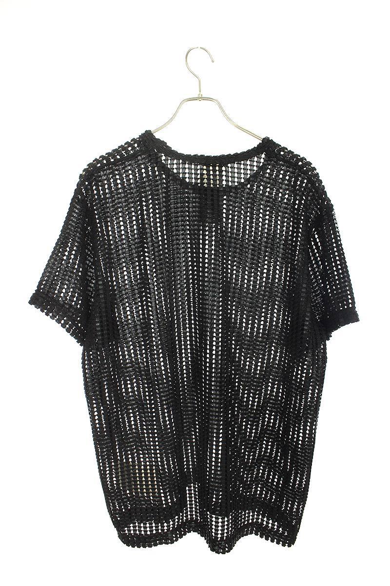 AD2019メッシュクルーネックTシャツ