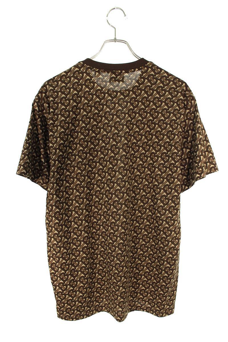 ロゴ総柄オーバーサイズTシャツ