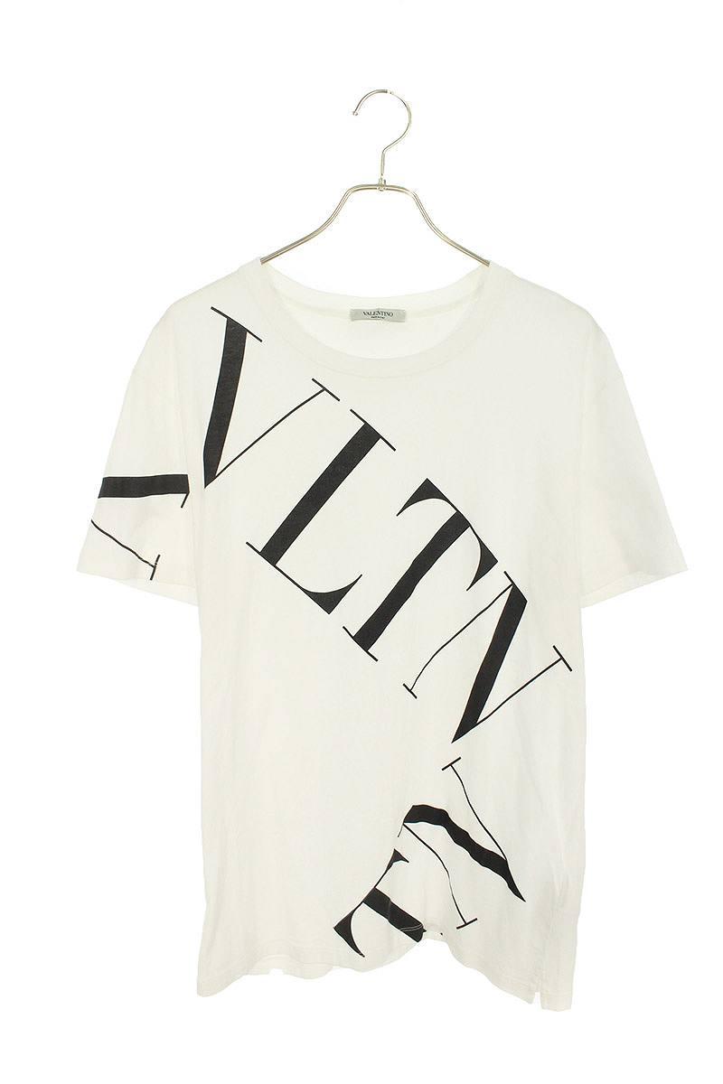 VLTNグリッドプリントTシャツ