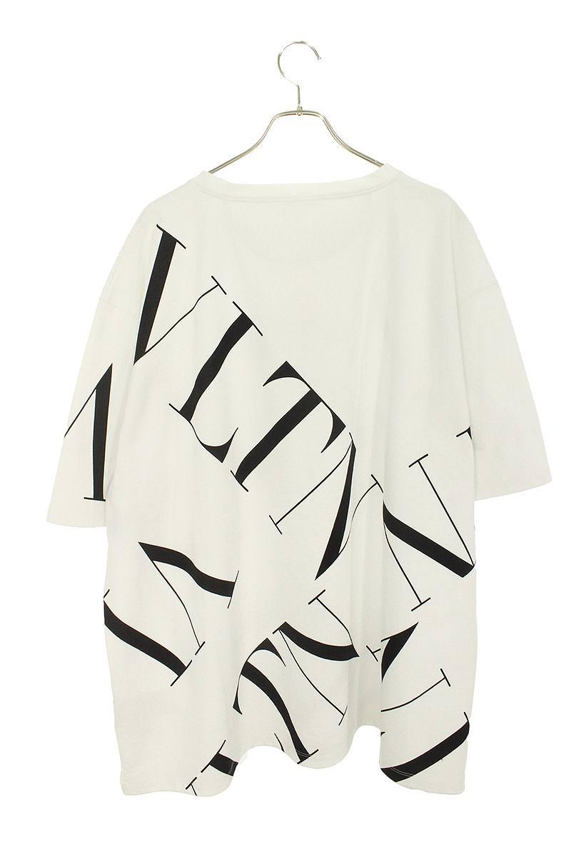 VLTNロゴマクログリットオーバーサイズTシャツ