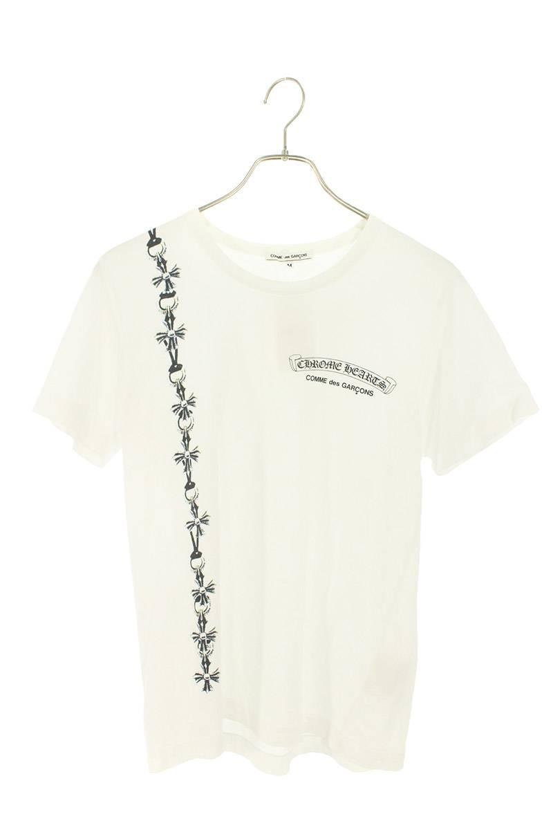 フロントチェーンプリントTシャツ
