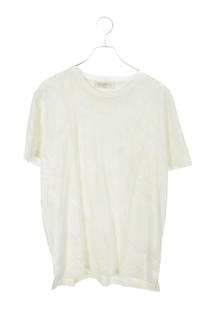 ロックスタッズボタニカル総柄Tシャツ