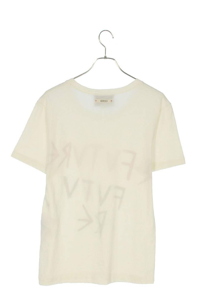 フロントプリントダメージ加工Tシャツ