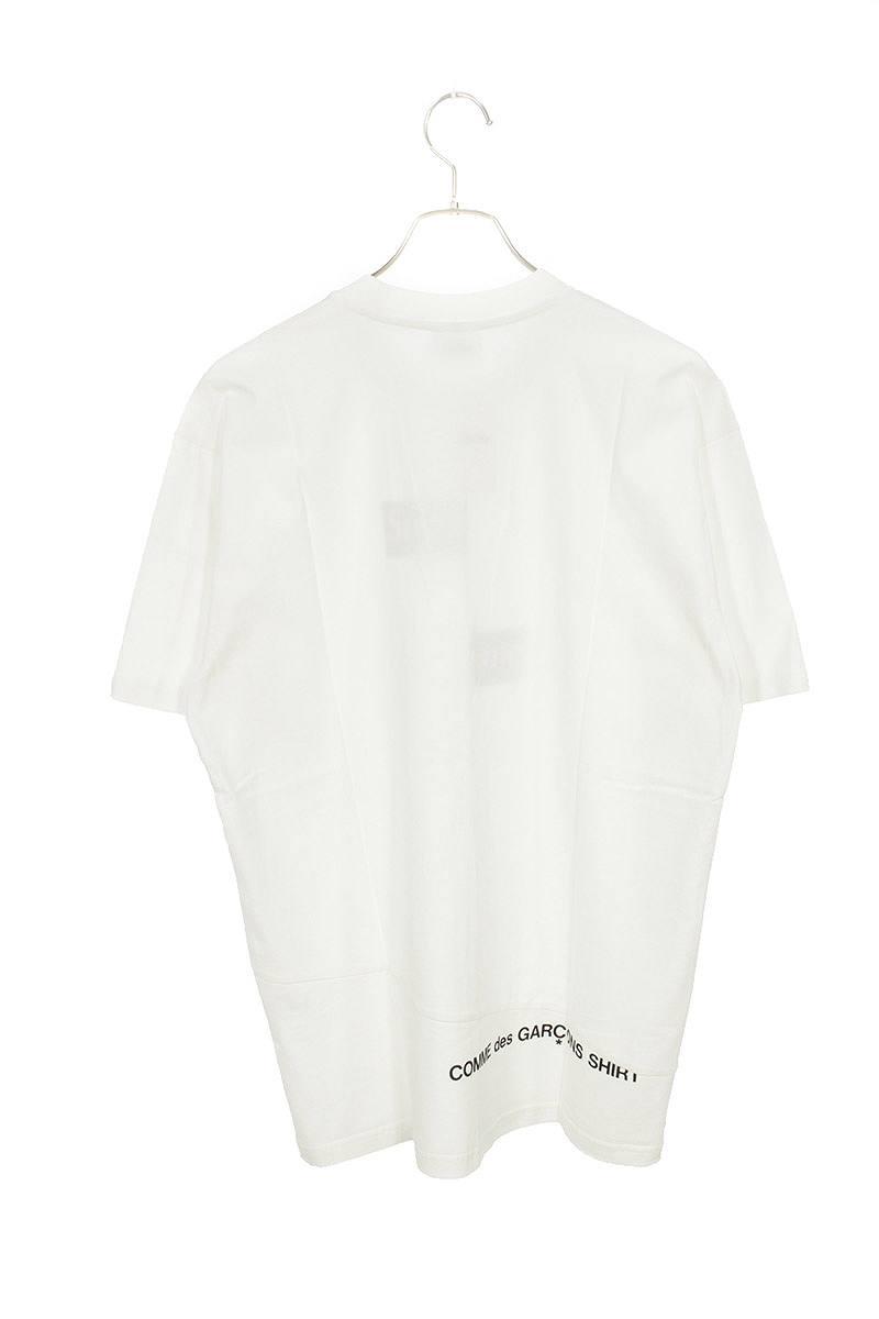 スプリットボックスロゴTシャツ