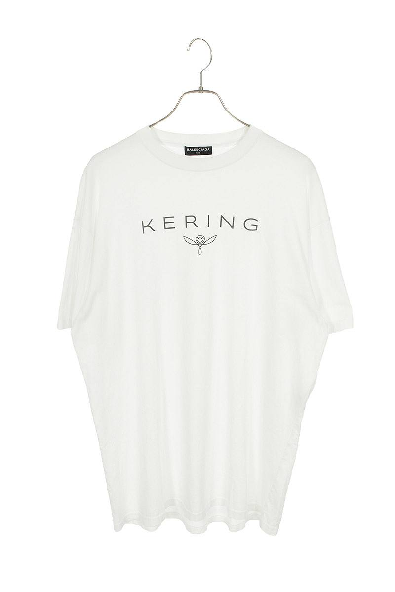 KERINGロゴプリントTシャツ