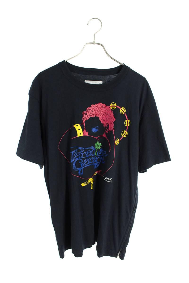 サイドジップTシャツ
