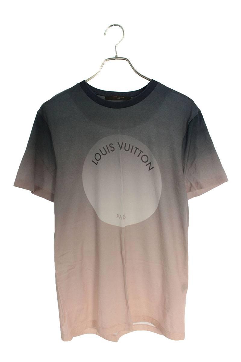ロゴプリントグラデーションTシャツ