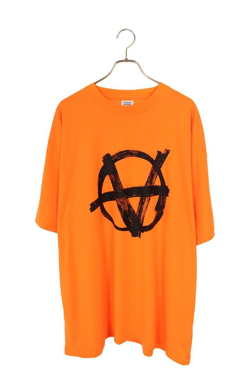 オーバーサイズアナーキープリントTシャツ