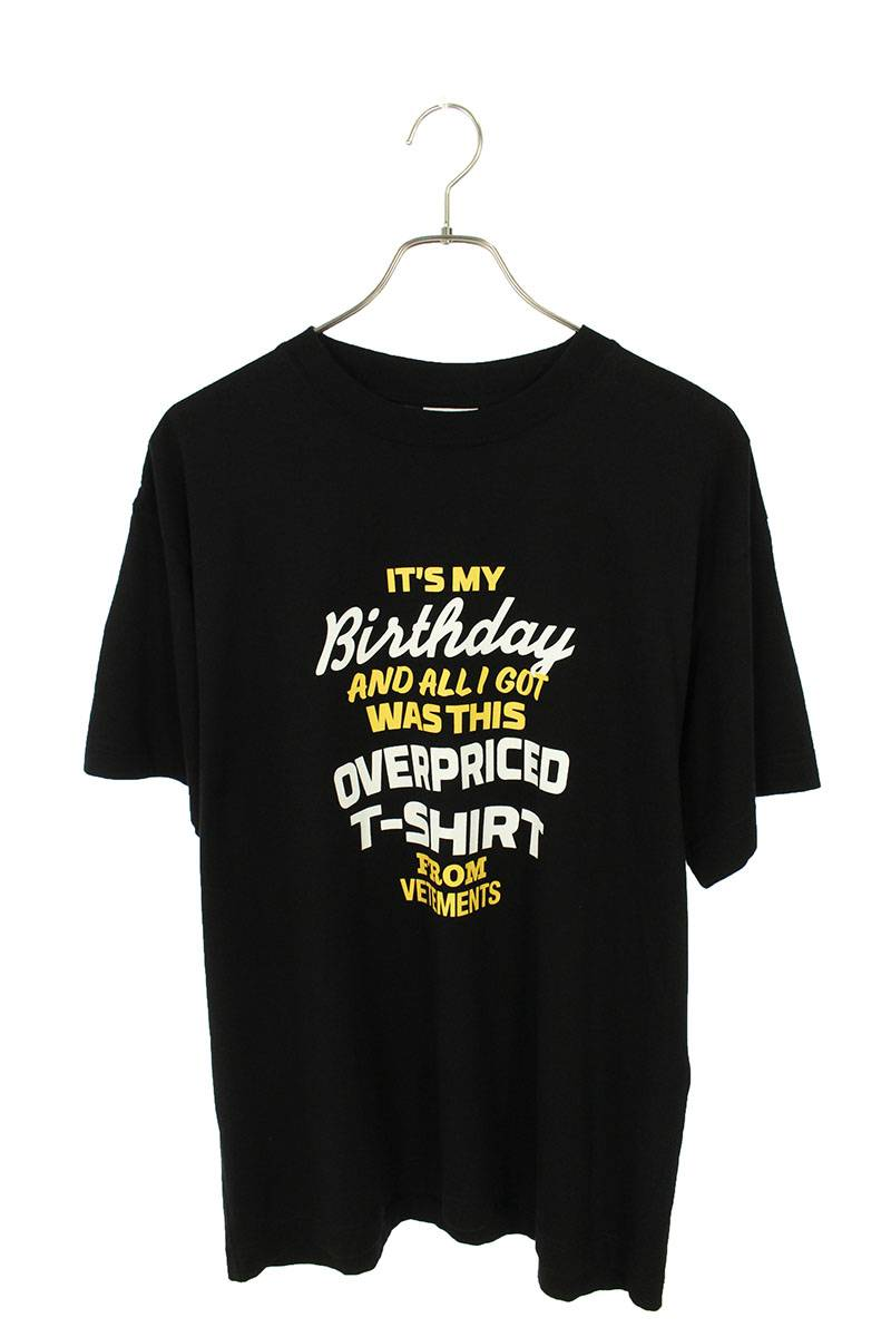 バースデイロゴプリントTシャツ