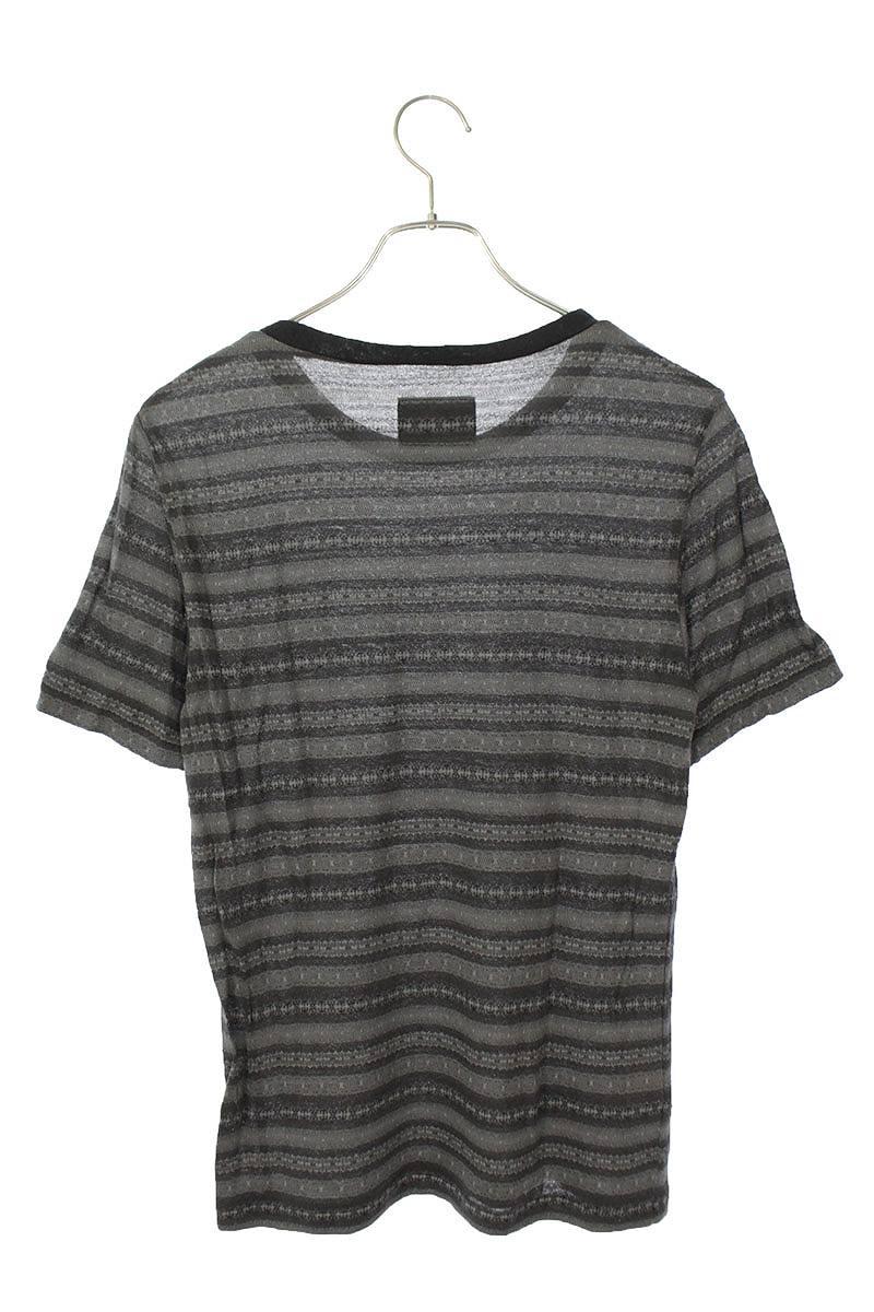 ボーダーデザインTシャツ