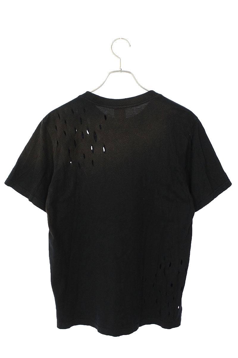ダメージ加工プリントTシャツ