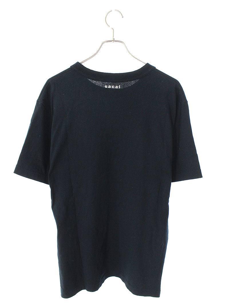 裾ジップクルーネックTシャツ