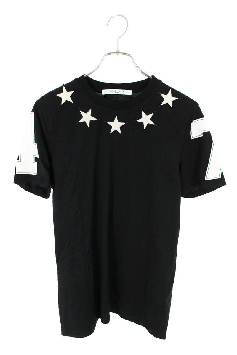 スターワッペン付きナンバリングTシャツ