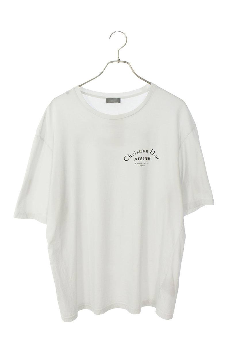 アトリエロゴプリントTシャツ