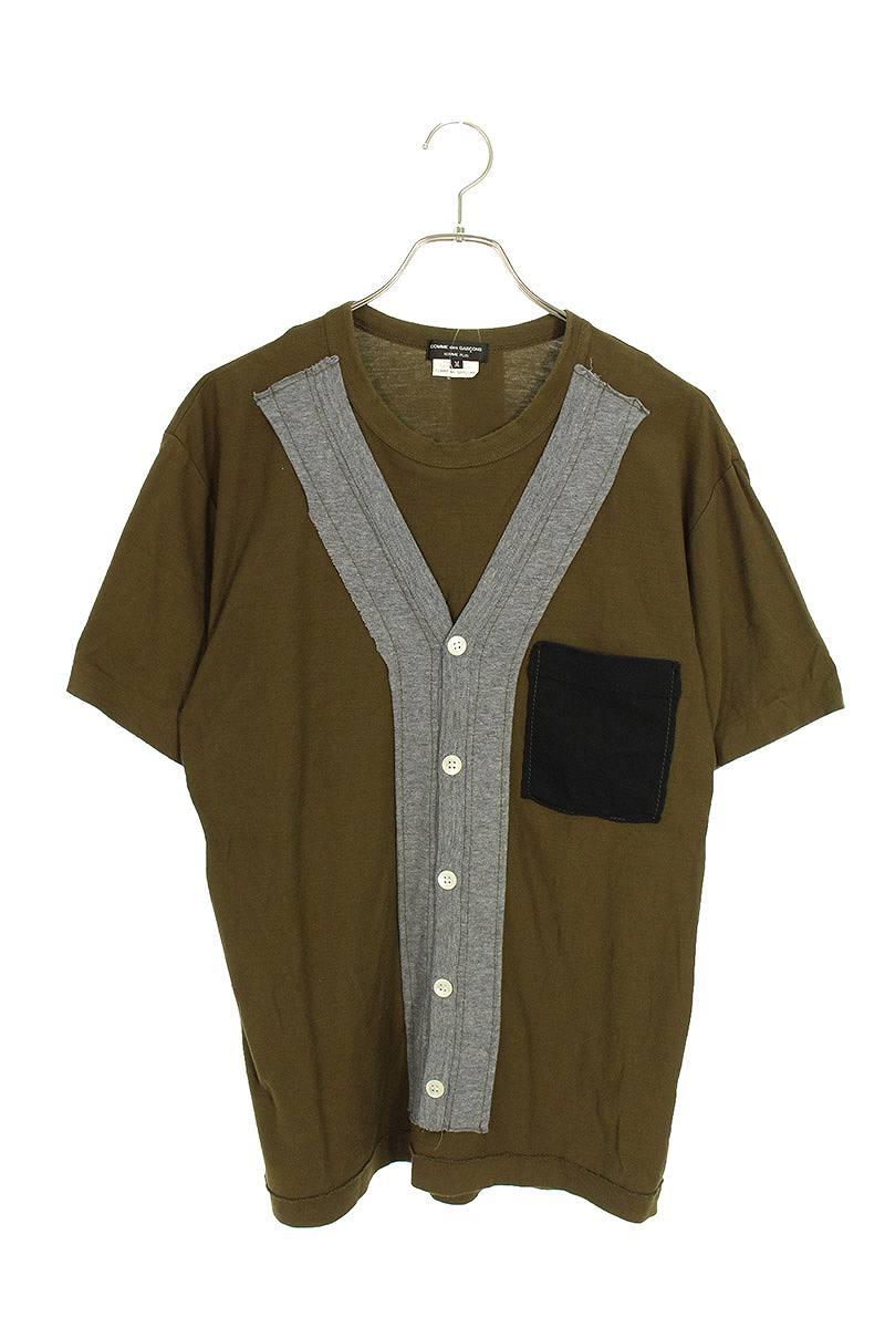 AD2008 パッチワークTシャツ