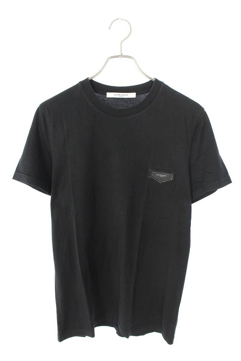 ロゴレザーパッチTシャツ