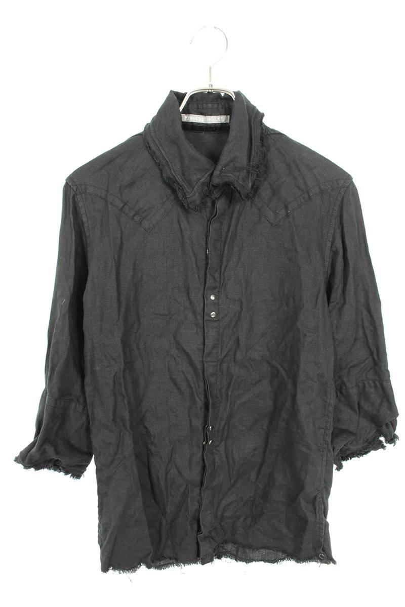 ハイビスカル七分袖シャツ